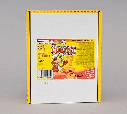 ČOKOSY - kostičky losos, 100ks