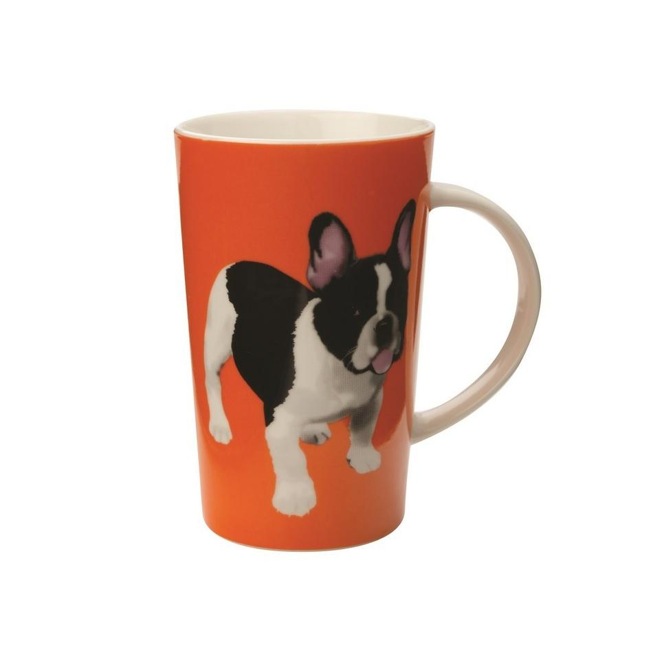 Maxwell & Williams Paws Conical Mug Hrnek,oranžová,