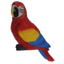 Papuga dekoracyjna Ara arakanga, 7 x 10 x 18 cm