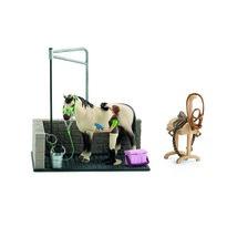 Schleich Kącik do mycia dla koni z akcesoriami