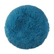 Poduszka włochata Jáchym petrol blue, 50 cm