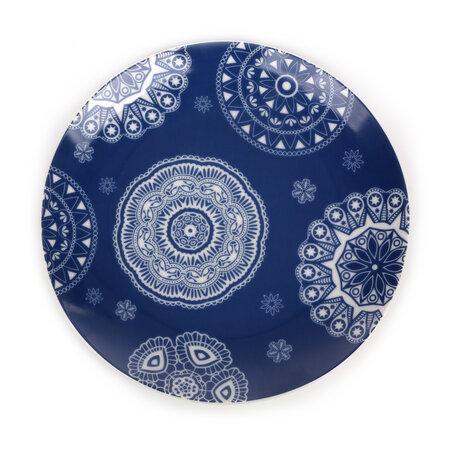 Dezertní talíř Blue Laces 20 cm, modrá