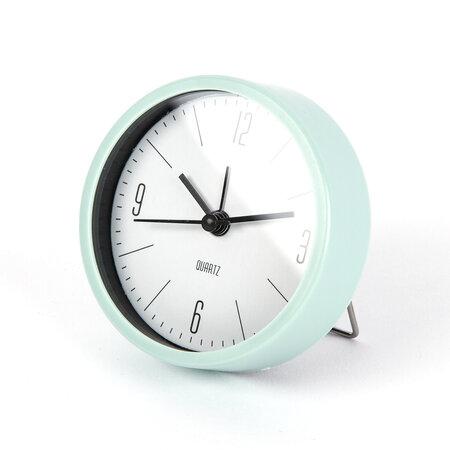 Ébresztőóra Round zӧld, átmérő 9,2 cm