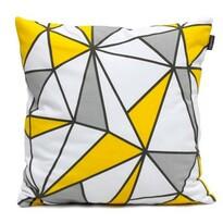 """Domarex Povlak na polštář Yellow Space Love """"GEO"""", 45 x 45 cm"""