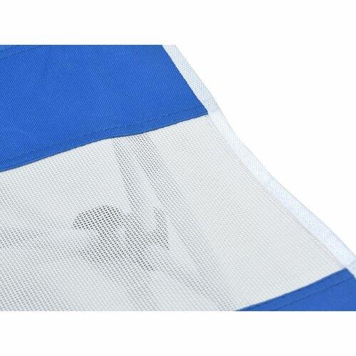 Cattara Plážové skladacie lehátko Larisa, modrá