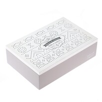 Cutie bijuterii Celine, din lemn, 24 x 16 x 7 cm