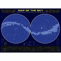 EuroGraphics Puzzle Mapa nebe, 1000 dílků