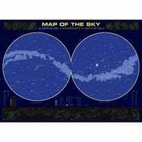 EuroGraphics Puzzle Mapa oblohy, 1000 dielikov