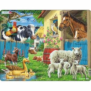 Larsen Puzzle Zvířata na farmě, 25 dílků