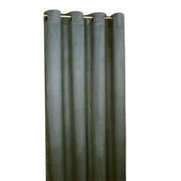 Zatemňovací závěs Suedine tmavě šedá, 140 x 240 cm, sada 2 ks