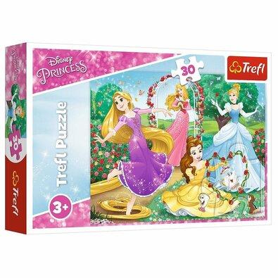 Trefl Puzzle Disney princezné Byť princeznou, 30 dielikov