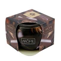Arome Vonná svíčka ve skle Chocolate, 85 g