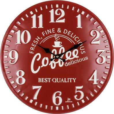 Lowell 21508 Designové nástenné hodiny pr. 40 cm
