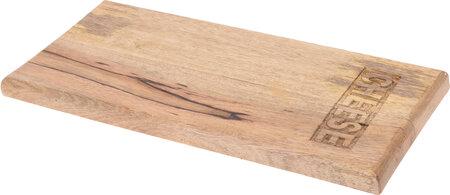 Dřevěné krájecí prkénko Cheese, 20 x 39,5 x 2,2 cm