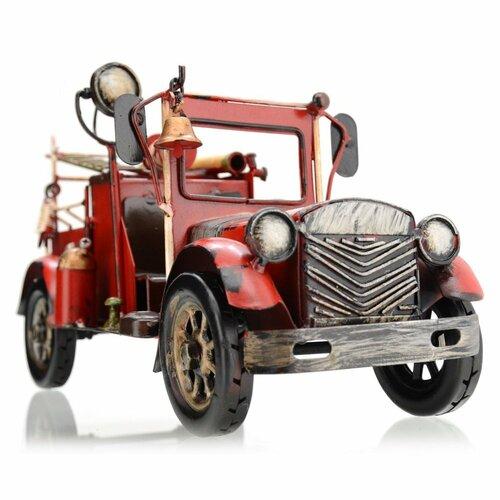 Dekoračný model auta Fire truck, červená