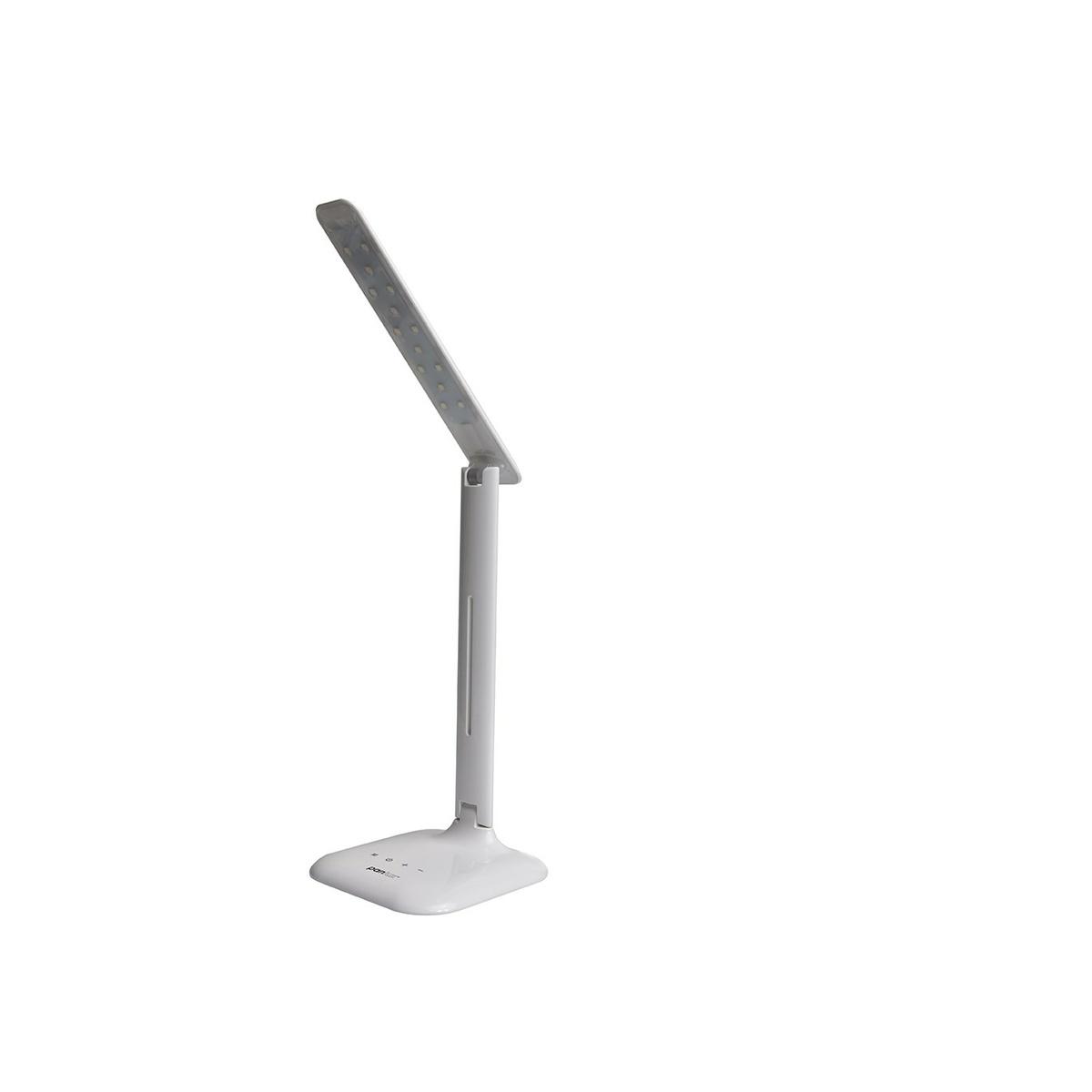 ROBIN LED stolná lampička, biela, Panlux