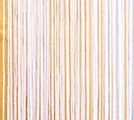 Provázková záclona Aga, bílá, 150 x 250 cm