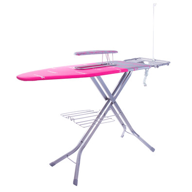 Brilanz Professional deska do prasowania, różowy