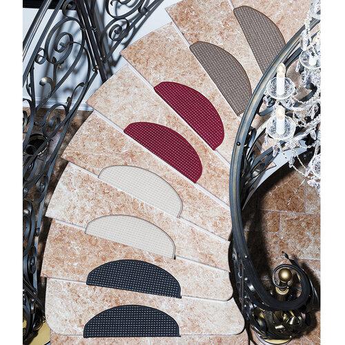 Nakładka na schody Birmingham beżowa, 24 x 65 cm