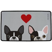 Covor multifuncțional interior Butter Kings French Bulldog, 75 x 45 cm