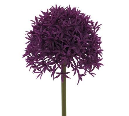Umělá květina květ česneku 3 ks