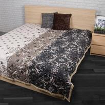 Přehoz na postel Alberica šedá