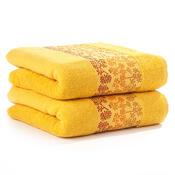 4Home ručník Kamelie žlutá, 50 x 90 cm, sada 2 ks