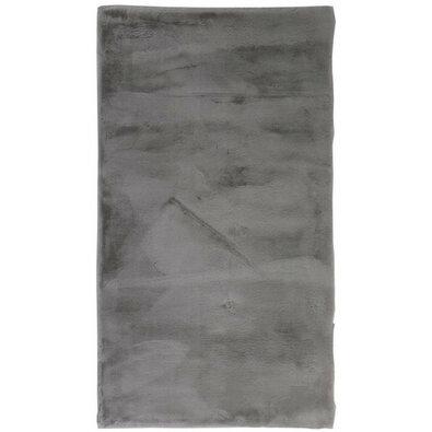 Rabbit New dark grey fürdőszobaszőnyeg, 40 x 50 cm