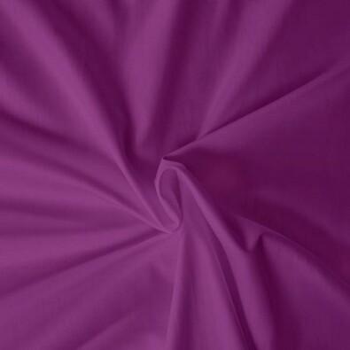 Saténové prostěradlo tmavě fialová, 90 x 200 cm