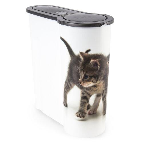 Dóza na krmivo pro kočky Kotě, 4 l