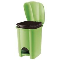 Tontarelli Odpadkový koš Carolina 6 l, zelená
