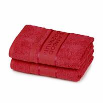 4Home Bamboo Premium törölköző, piros, 30 x 50 cm, 2 db-os szett