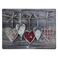 Pătură Inimă, 150 x 200 cm