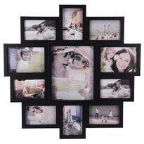 Family képkeret 11 fotóhoz, fekete, 61 x 61 x 2 cm