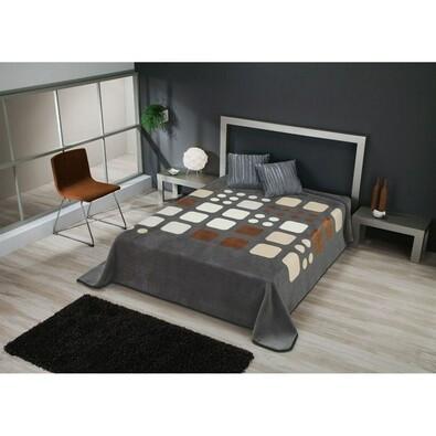 Španělská deka Piel Domino, 220 x 240 cm, béžová