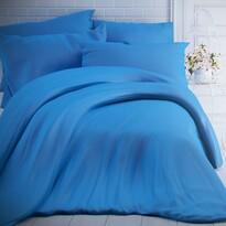 Kvalitex Lenjerie de pat din bumbac albastră, 140 x 200 cm, 70 x 90 cm