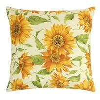 Poduszka Gita Kwiat słonecznika, 45 x 45 cm