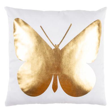 Párna Gold De Lux Pillangó, 43 x 43 cm