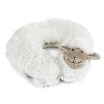 Poduszka podróżna biała owieczka 30 cm