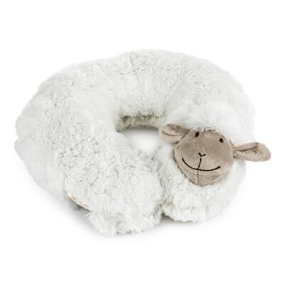 Cestovní polštářek Ovečka bílá, 30 cm