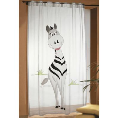 Dětská záclona Zebra, 140 x 245 cm
