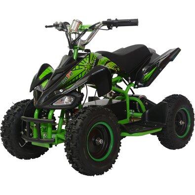 Buddy Toys BEA 810 Štvorkolka Boyo zelená, 800 W
