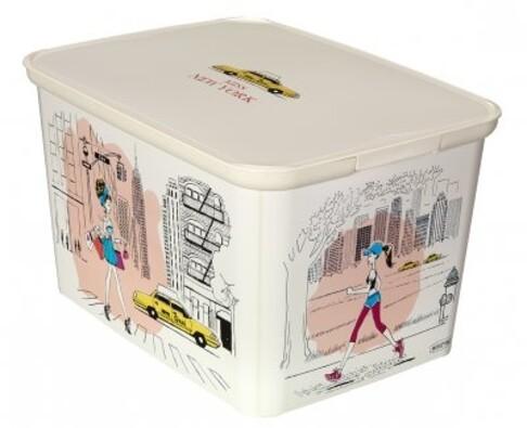 Curver AMSTERDAM Miss New York úložný box velký