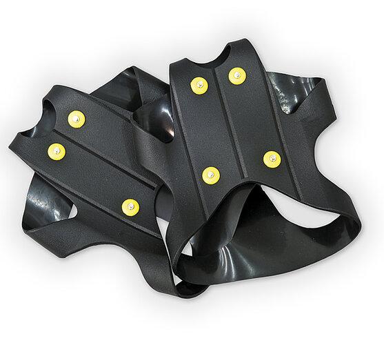 Protiskluzové přezky na boty, univerzální, černá
