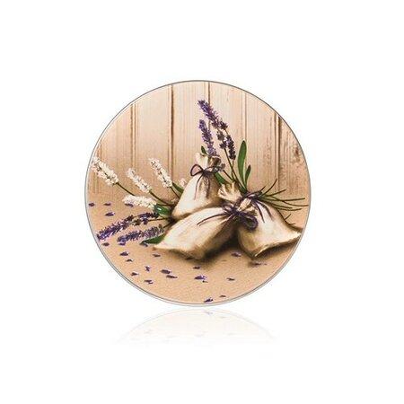 Produktové foto Banquet Plechovka kulatá LAVENDER 75x180 mm