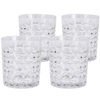 Koopman Sada krištáľových pohárov 300 ml, 4 ks