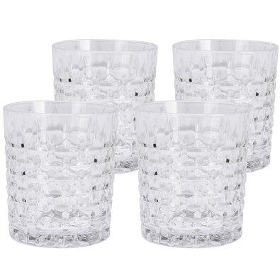 Sada krištáľových pohárov 300 ml, 4 ks