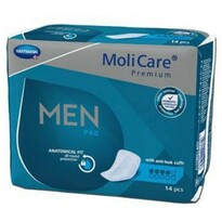 MoliCare Men Pánske inkontinenčné vložky 4 kvapky, 14 ks