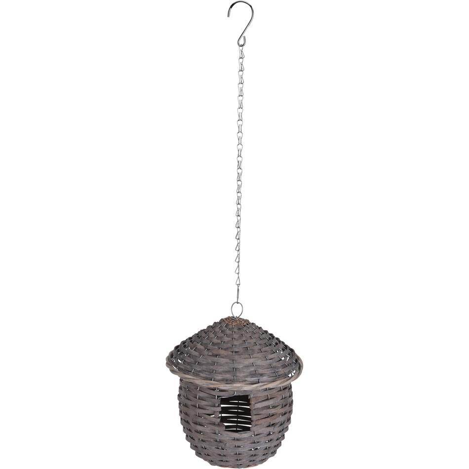 Koopman Proutěná ptačí budka, 22 cm