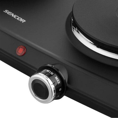 Sencor SCP 2254BK-EUE4 dvouplotýnkový vařič